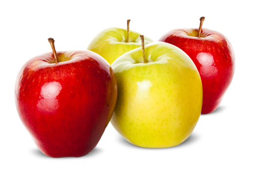 Red or Golden Delisious Apples
