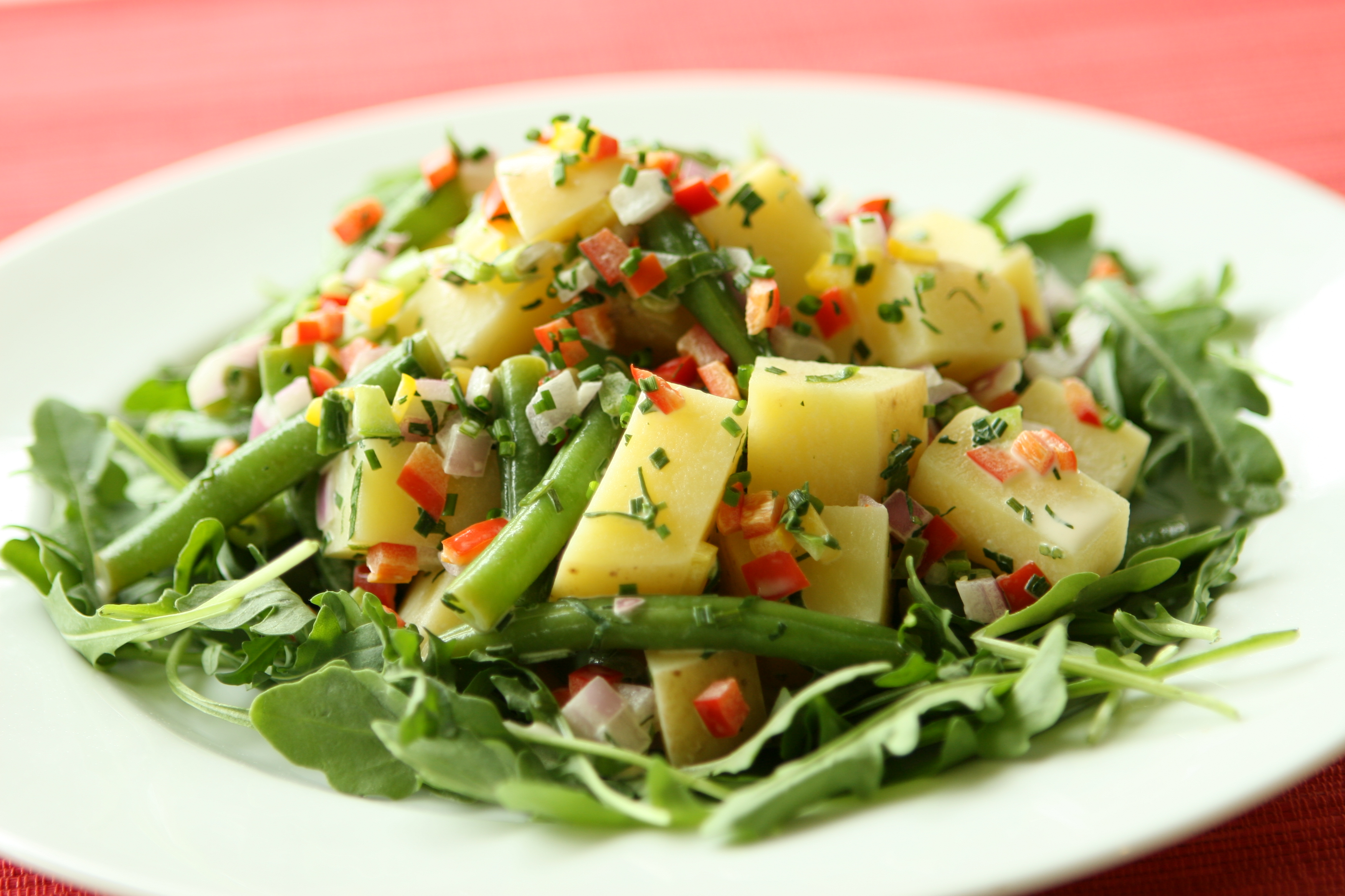 Florida Potato and Green Bean Salad