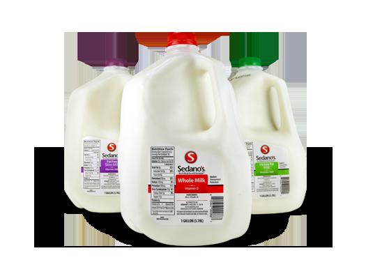 Sedano's Milk