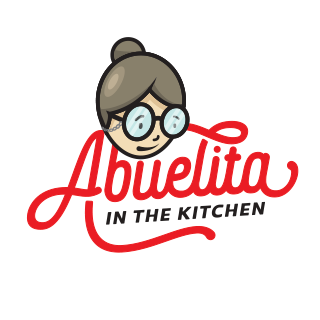 Abuelita in the kitchen stamp