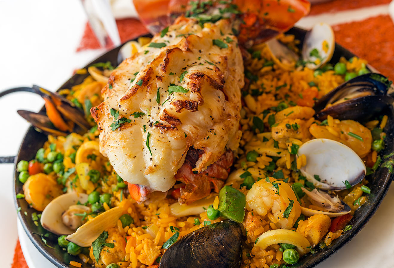 Lobster Paella Recipe