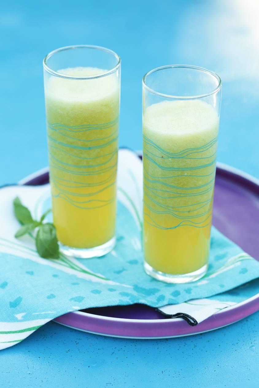 Pineapple Cucumber Agua Fresca