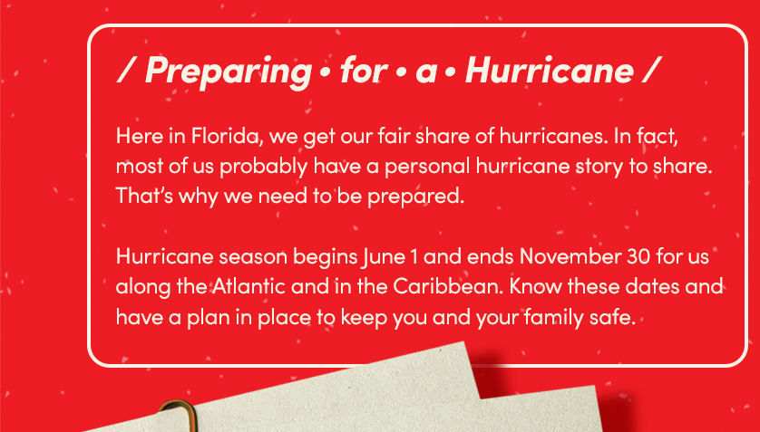 Preparing for a Hurricane.
